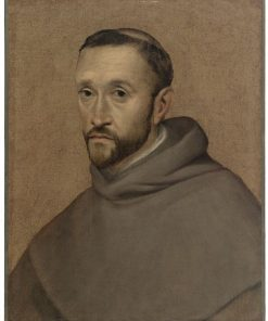 Portrait of a Monk | Girolamo Mazzola Bedoli | Oil Painting
