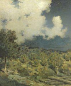 Landscape | Jean Charles Cazin | Oil Painting