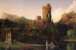 Landscape Composition: Italian Scenery | Thomas Cole | Oil Painting