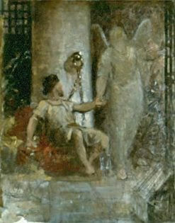 Angel Releasing Peter from Prison | Carl Gutherz | Oil Painting