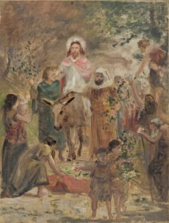 Christ's Triumphal Entry into Jerusalem | Carl Gutherz | Oil Painting