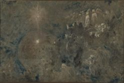 Compositional Study for Light of the Incarnation | Carl Gutherz | Oil Painting