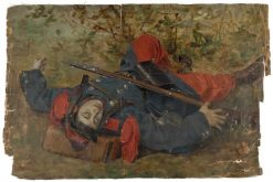 Dead French Soldier