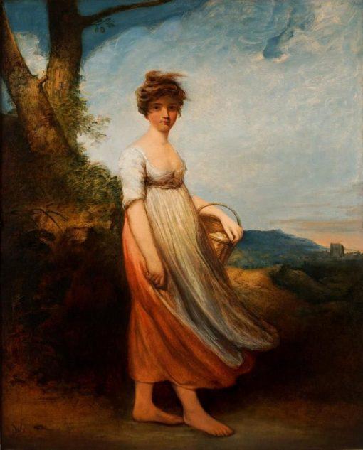 A Country Girl | John Hoppner | Oil Painting