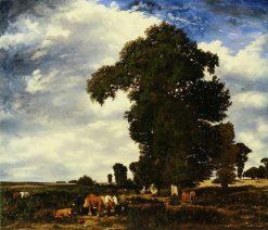 Pastoral Scene | Jules DuprE | Oil Painting