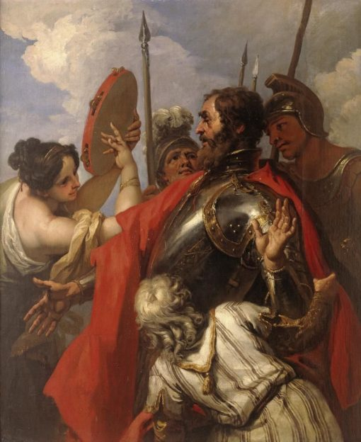 Jephthah and His Daughter | Sebastiano Ricci | Oil Painting
