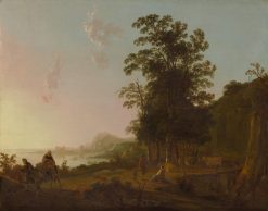 Landscape with the Flight into Egypt | Aelbert Cuyp | Oil Painting