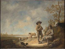 Piping Shepherds | Aelbert Cuyp | Oil Painting