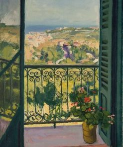 View from a Balcony | Albert Marquet | Oil Painting