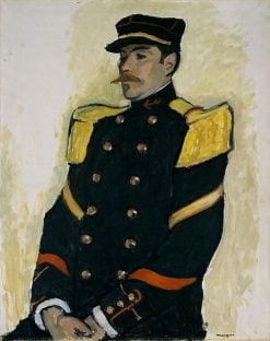Sergeant of the Colonial Regiment | Albert Marquet | Oil Painting