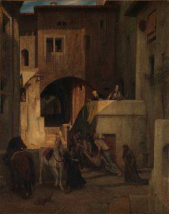 The Good Samaritan | Alexandre Gabriel Decamps | Oil Painting