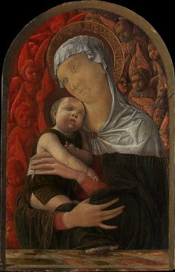 Madonna and Child with Seraphim and Cherubin | Andrea Mantegna | Oil Painting