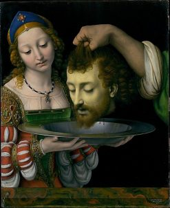 Salome with the Head of John the Baptist | Andrea Solario | Oil Painting