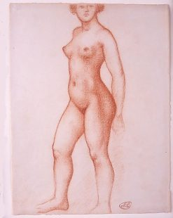 Standing Nude | Aristide Maillol | Oil Painting