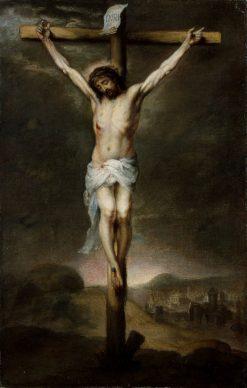 The Crucifixion | BartolomE Esteban Murillo | Oil Painting