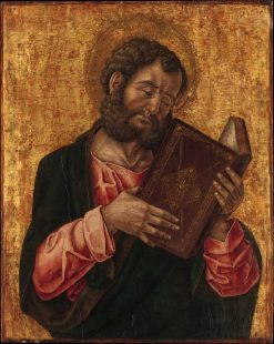 A Saint Reading (Saint Mark?) | Bartolomeo Vivarini | Oil Painting
