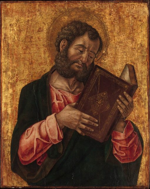A Saint Reading (Saint Mark?)   Bartolomeo Vivarini   Oil Painting