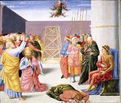 Saint Peter and Simon Magus | Benozzo Gozzoli | Oil Painting