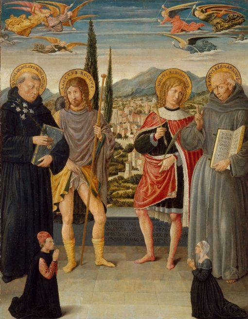 Saints Nicholas of Tolentino