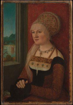 Portrait of a Woman   Bernhard Strigel   Oil Painting