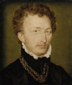 Portrait of a Man with a Gold Chain | Claude Corneille de Lyon | Oil Painting