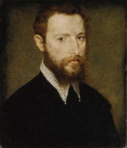 Portrait of a Man with a Pointed Collar | Claude Corneille de Lyon | Oil Painting