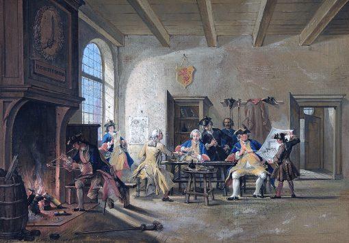 Guardroom Scene | Cornelis Troost | Oil Painting