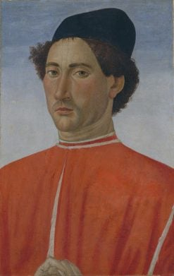 Portrait of a Man   Cosimo Rosselli   Oil Painting