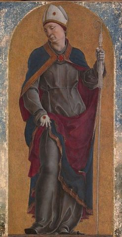 Saint Louis of Toulouse | Cosme Tura | Oil Painting
