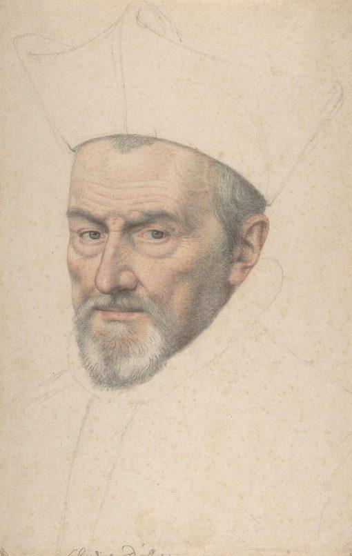 Portrait of Cardinal d'Ossat | Daniel Dumonstier | Oil Painting