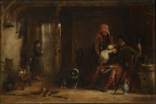 The Highland Family | David Wilkie | Oil Painting