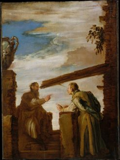 The Parable of the Mote and the Beam | Domenico Fetti | Oil Painting