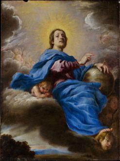 Salvator Mundi   Domenico Fetti   Oil Painting