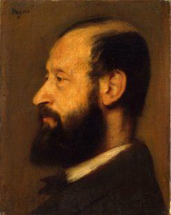 Portrait of Joseph-Henri Altes (1826-1895) | Edgar Degas | Oil Painting