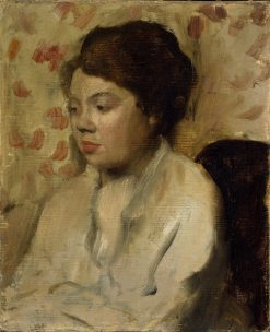 Portrait of a Young Woman | Edgar Degas | Oil Painting