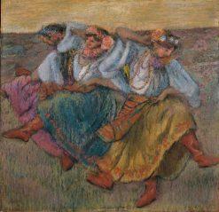 Russian Dancers | Edgar Degas | Oil Painting