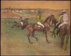Race Horses | Edgar Degas | Oil Painting