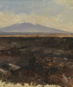 Catania and Mount Etna | Edward Lear | Oil Painting
