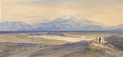 Mount Olympus from Larissa
