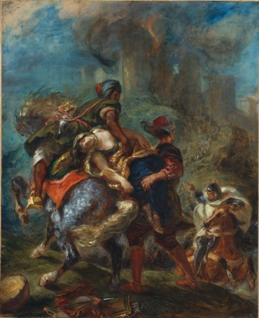 The Abduction of Rebecca | Eugene Delacroix | Oil Painting