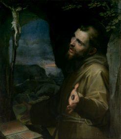 Saint Francis   Federico Barocci   Oil Painting