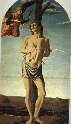 Saint Sebastian | Francesco Botticini | Oil Painting