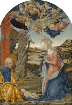 The Nativity | Francesco di Giorgio Martini | Oil Painting