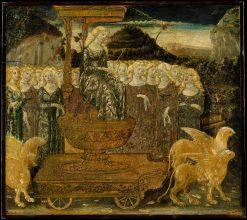 Goddess of Chaste Love | Francesco di Giorgio Martini | Oil Painting