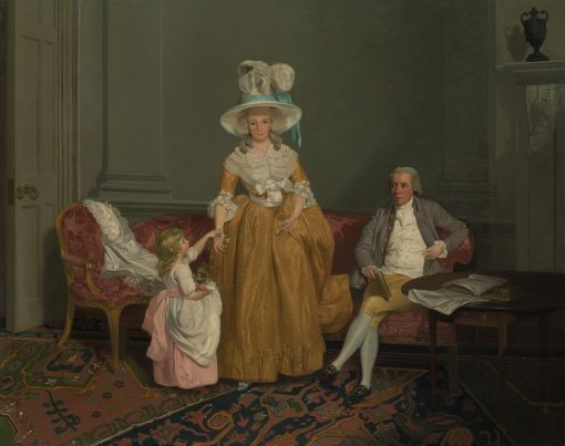 The Saithwaite Family | Francis Wheatley | Oil Painting