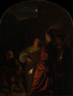 The Serenade | Frans van Mieris the Elder | Oil Painting