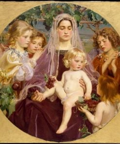Madonna of Giverny | Frederick William MacMonnies | Oil Painting