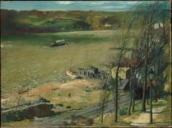 Up the Hudson | George Wesley Bellows | Oil Painting