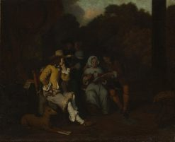 A Musical Party | Gerbrand van den Eeckhout | Oil Painting