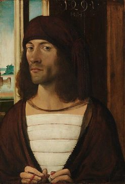 Portrait of a Man | German School th Century   Unknown | Oil Painting